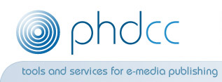 PHD Computer Consultants Ltd: tools and services for e-media publishing